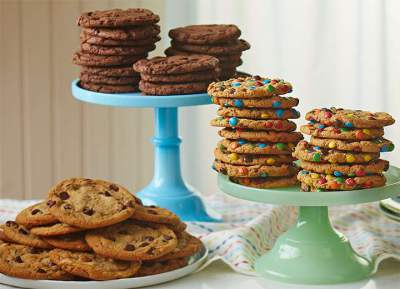 cookies de chocolate simples