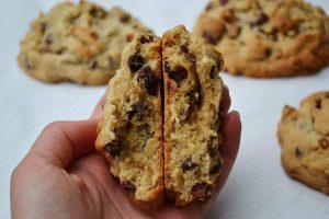 como fazer cookies americanos