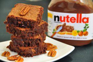 receita de brownie de nutella