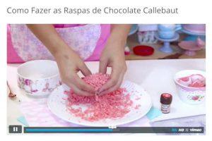 Como Fazer Raspas de Chocolate Callebaut