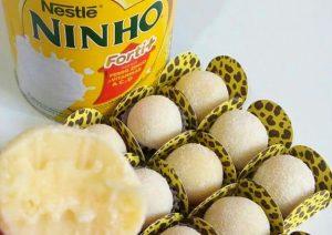 receita de brigadeiro gourmet de leite ninho