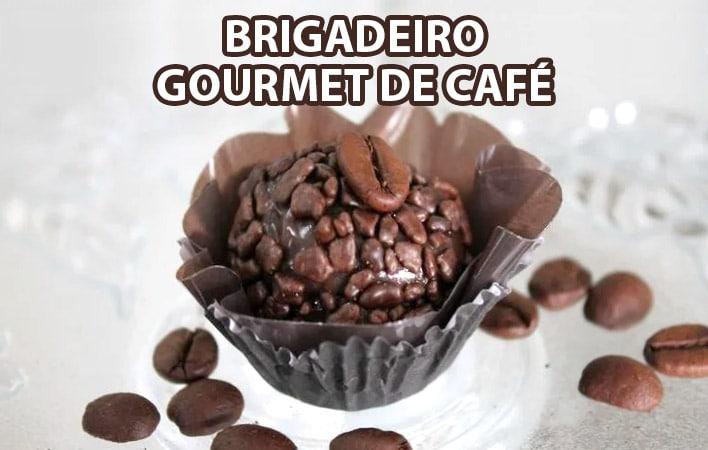 brigadeiro gourmet de café